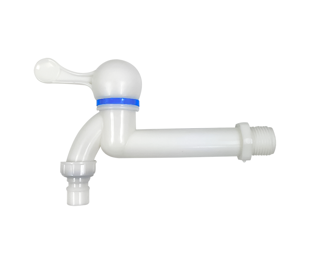 Plastic PP Long Tap with nozzle for water supply