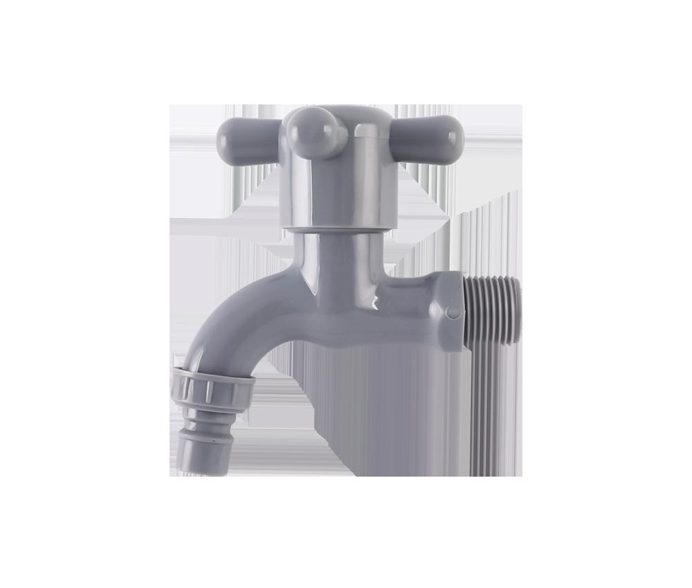 Gray PVC PP Water Faucet PP Tap