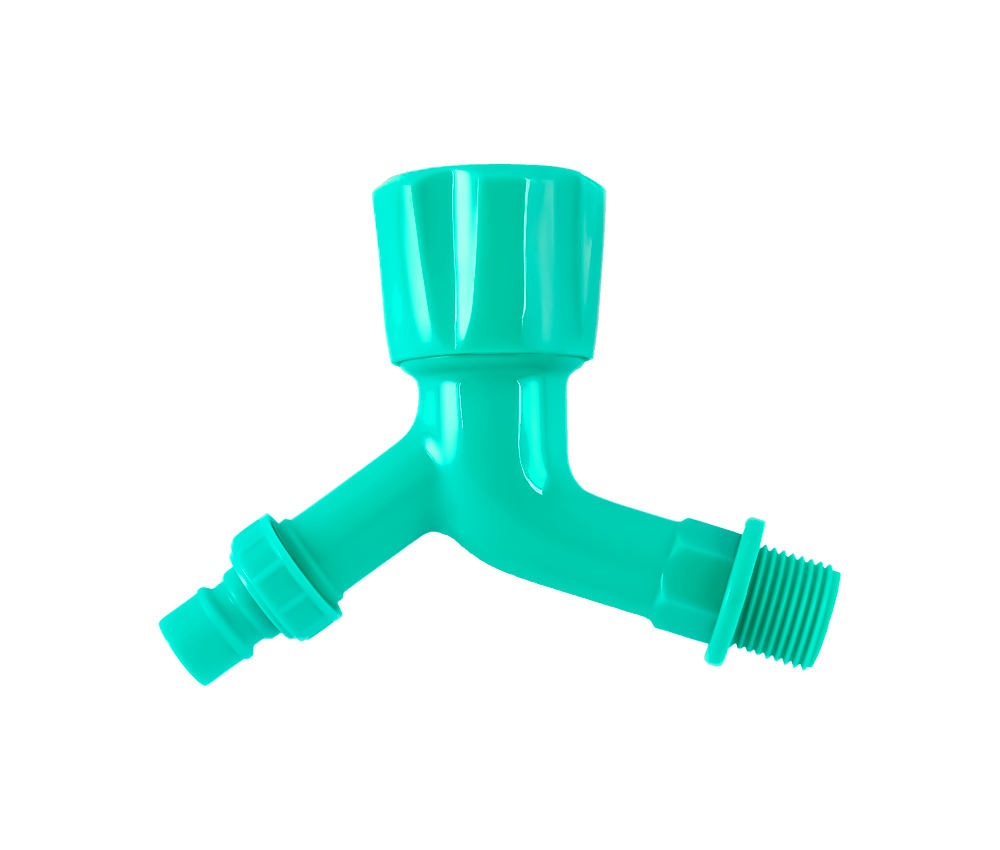 Cheap Green Plastic PP water Tap