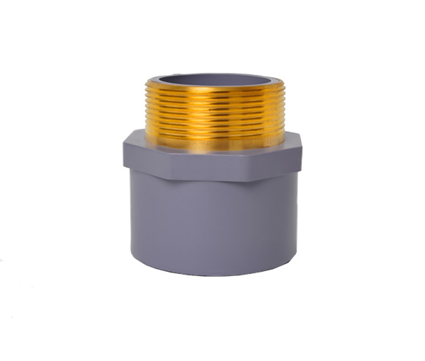 Male Coupling (Copper Thread) CPVC ASTM SCH80 Standard Water Sup