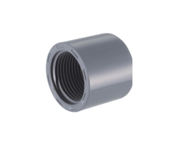 Female Cap CPVC ASTM SCH80 Standard Water Supply Fittings