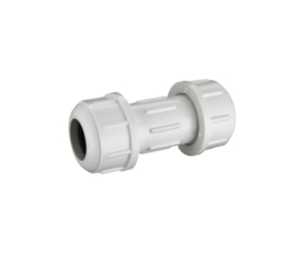 Compression Coupling PVC ASTM D2466 SCH40 Pipe Fittings