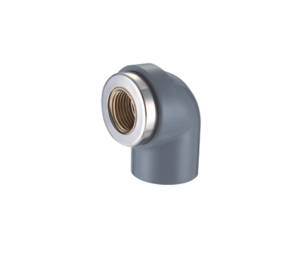90deg Female Elbow (Copperthread) CPVC ASTM SCH80 Standard Water Supply Fittings