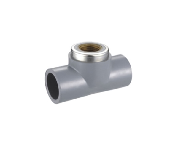 Female Tee(Copperthread) CPVC ASTM SCH80 Standard Water Supply Fittings