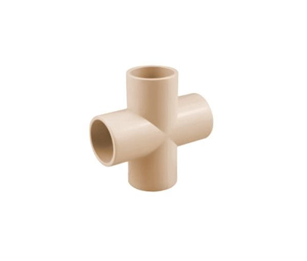 Cross Tee CPVC ASTM D2846 For Hot And Cold Water Sistribution System