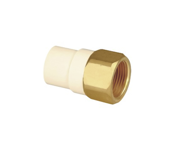 Female Coupling (Copper Thread) CPVC ASTM D2846 For Hot