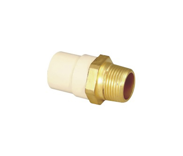 Male Coupling (Copper Thread) CPVC ASTM D2846 For Hot And Cold Water Sistribution System