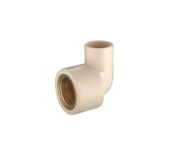 90 Dec Female Elbow (Copper Thread) CPVC ASTM D2846 For Hot And Cold Water Sistribution System