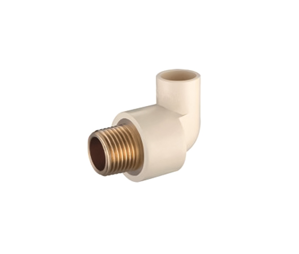 Male Elbow(Copper Thread) CPVC ASTM D2846 For Hot And Cold Water Sistribution System