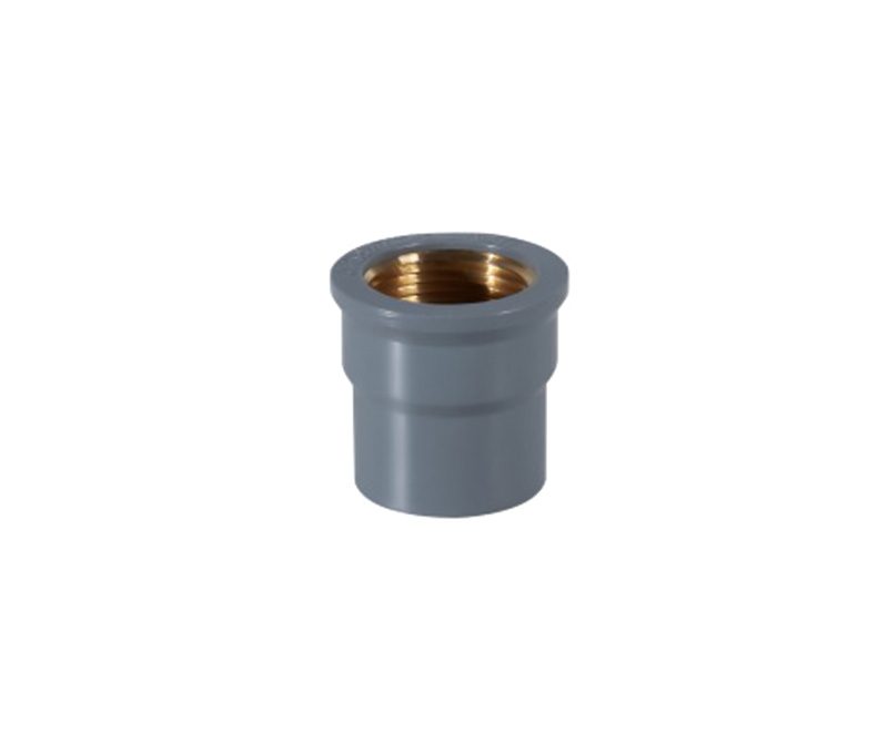 Copper Thread c0upl1ng(female coupling) - PVC Din Standard PN10 Water Supply Fittings