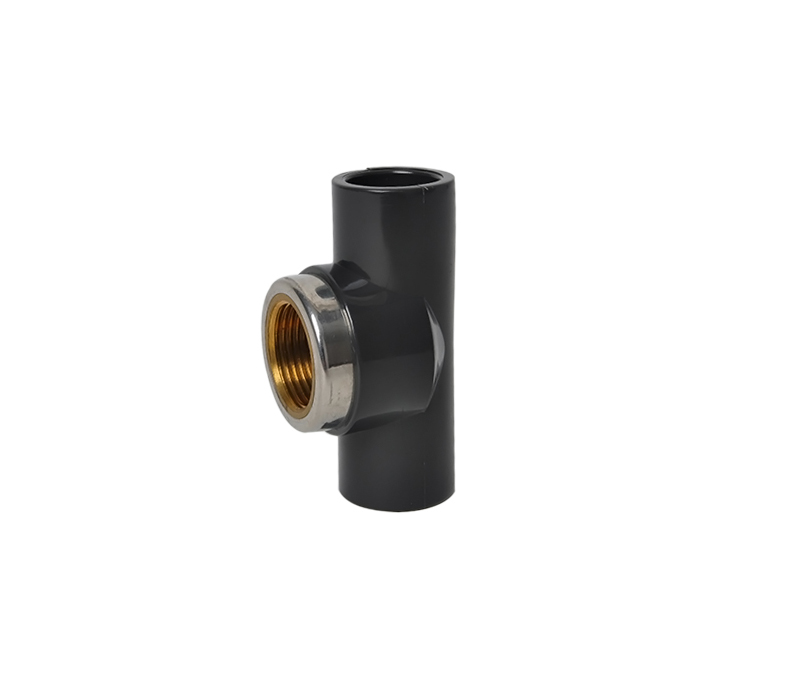 Female Tee(Copperthread) PVC ASTM D2467 SCH80 Pipe Fittings