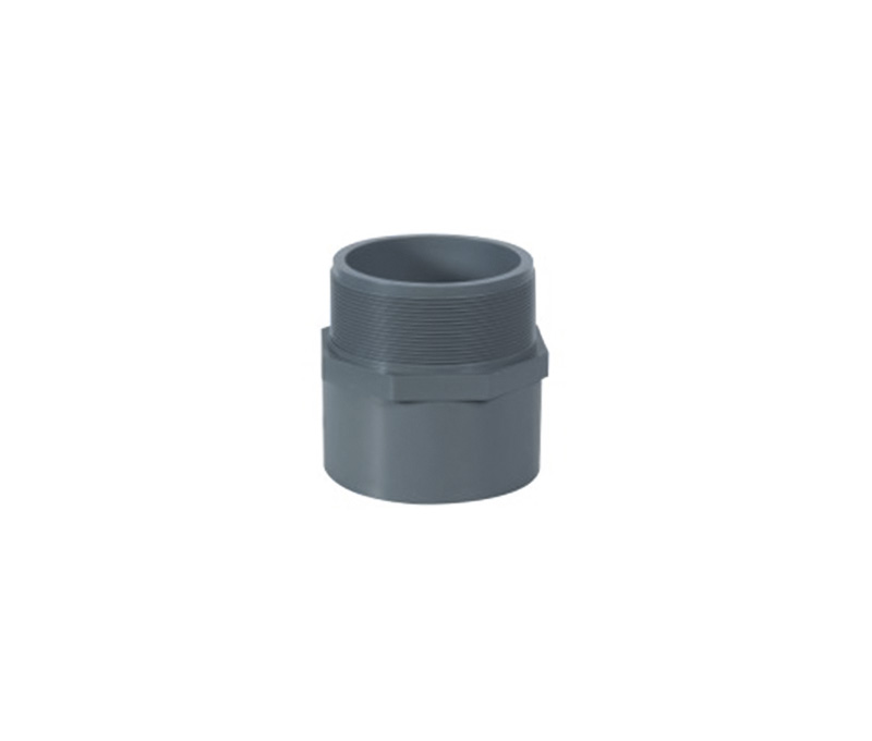 Male Adaptor - PVC Din Standard PN10 Water Supply Fittings