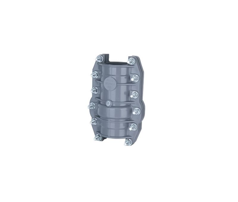 Repairing Coupling (no stop water) - PVC Din Standard PN10 Water Supply Fittings