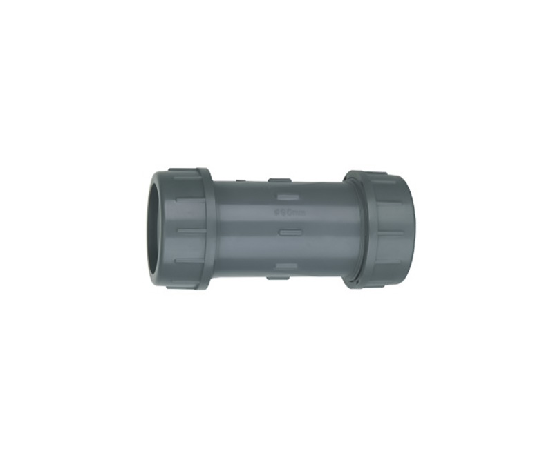 Compression Coupling - PVC Din Standard PN10 Water Supply